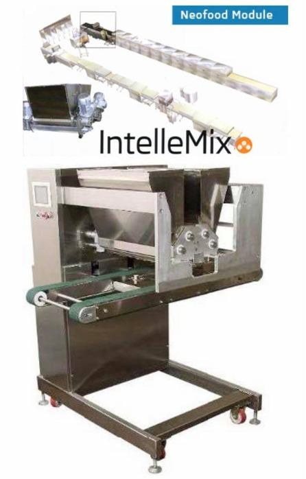 Machine for forming two-component products - IntelleMix