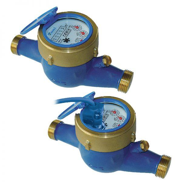 Mercan Serie Water Meter Class B (R100) - Multi-Jet Dry Dial Water Meters From DN15 to DN50