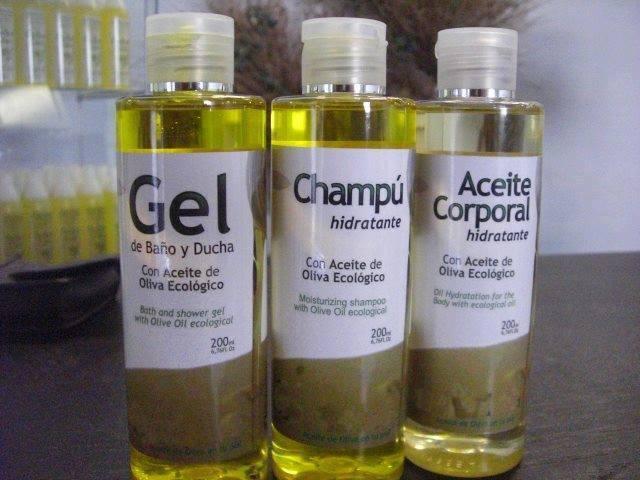 Cosmétiques à base d'huile d'olive biologique