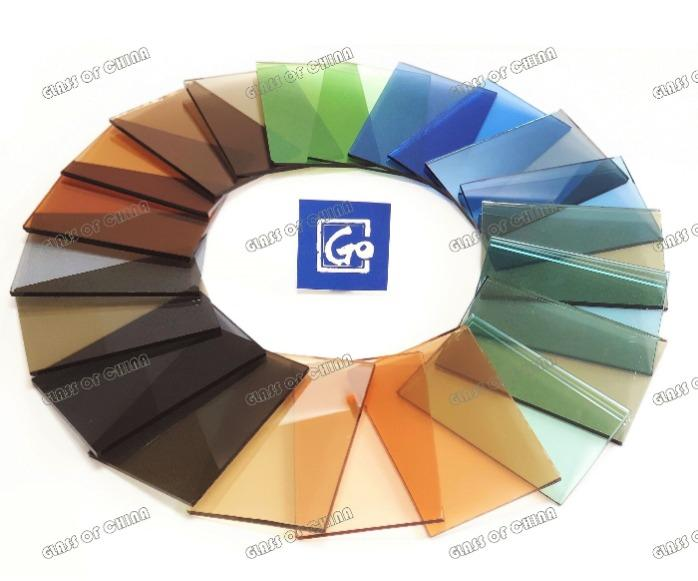 4-12mm Dark Green Float Glass - dark green float glass,tinted float glass