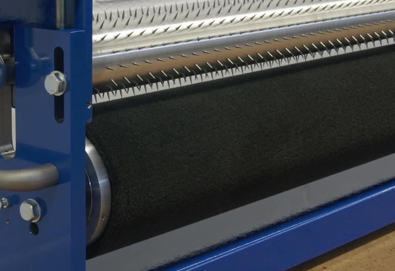 Complete spiked rollers - pin rollers - perforation rollers