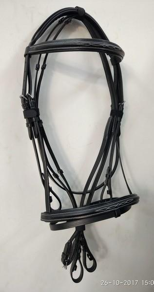Classic Comfort bridle with reins - Classic raised style Comfort Bridle with reins