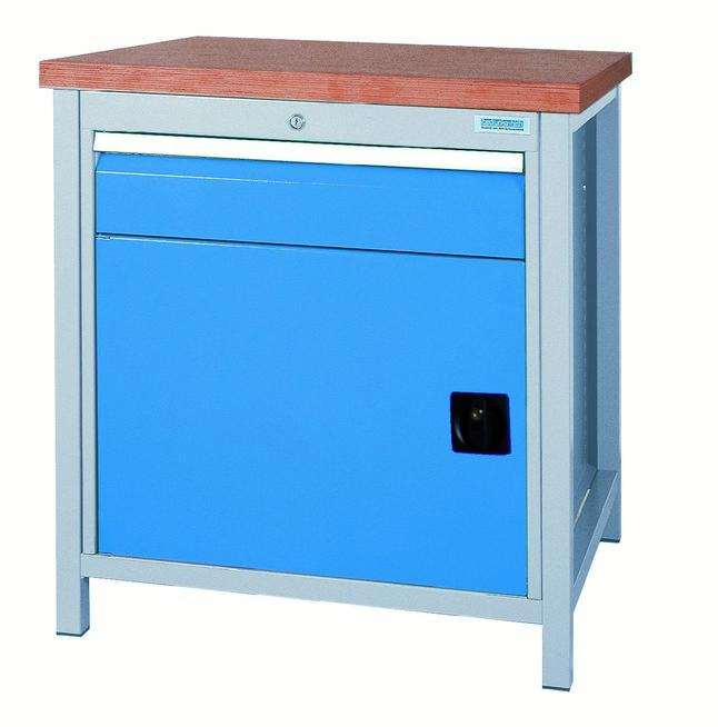 Workbench with 1x cabinet series 700 - 03.075.02VA