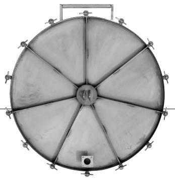 Round exterior pressure lids - Séries 22