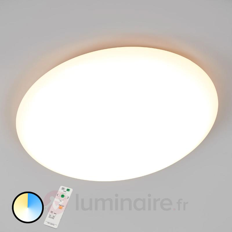 Plafonnier LED Joel dimmable, couleur réglable - Plafonniers LED