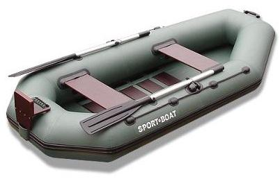 Inflatable PVC Rubber Rowing boat with transom