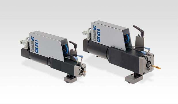 Tapping units - GSE KS - Compact, powerful processing modules GSE KS for cutting and forming threads