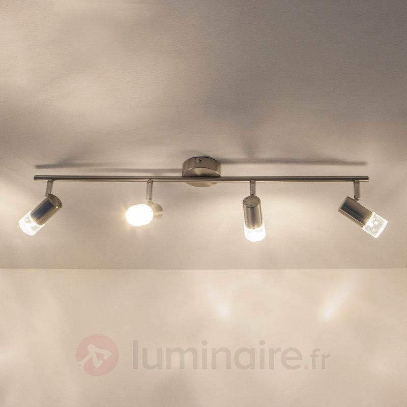 Plafonnier LED élégant Bane à quatre lampes - Plafonniers LED