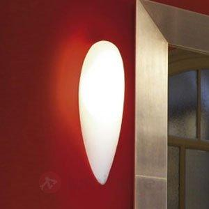 Exceptionnelle applique Glass, ovale - Appliques en verre