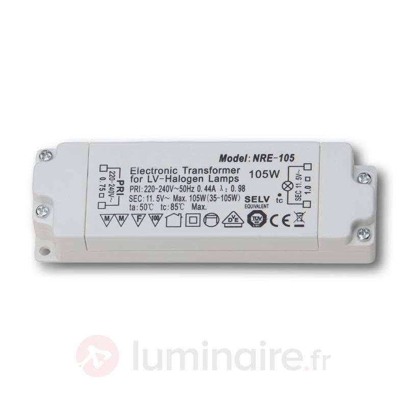 Transfo électronique 35 - 105 VA 230-12V - Transformateurs
