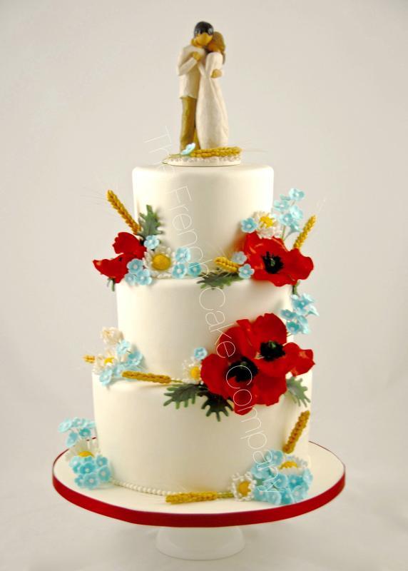 Gâteaux et Pièces Montées sur-mesure - Fleurs des Champs