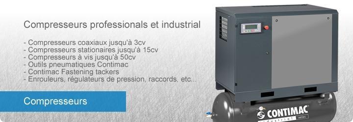 Compresseur - Groupes électrogènes - CONTIMAC