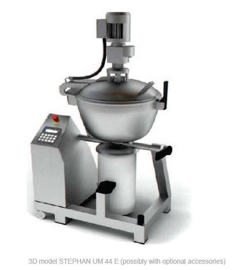 Cutter mélangeur broyeur chocolat ganache sous vide - STEPHAN UM44E