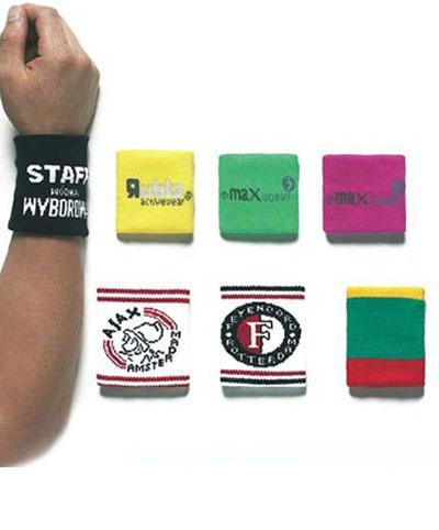 Bracelets Poignets Tennis - Serre-poignets et bracelets poignets tennis avec logo tissé