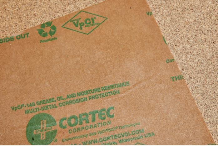 Oliebestendig papier  - VpCI 148® Vetbestendig corrosieremmend papier | Verschillende maten
