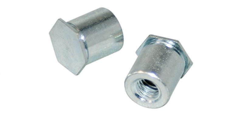 Self-clinch standoff - Sheet metal fasteners- perfect addition to the well-proven blind rivet products.