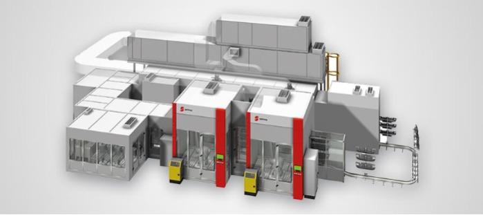 Floor Conveyor Coating Machine -