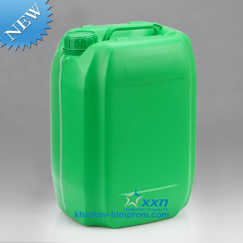 Jerrycan 10L - T10 stackable - Packaging for Agrochemicals