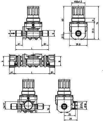 Pressure Reducer - 42.008.126