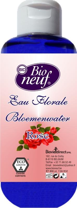 EAU FLORALE 200 ml DE ROSE - COSMETIQUE ECO