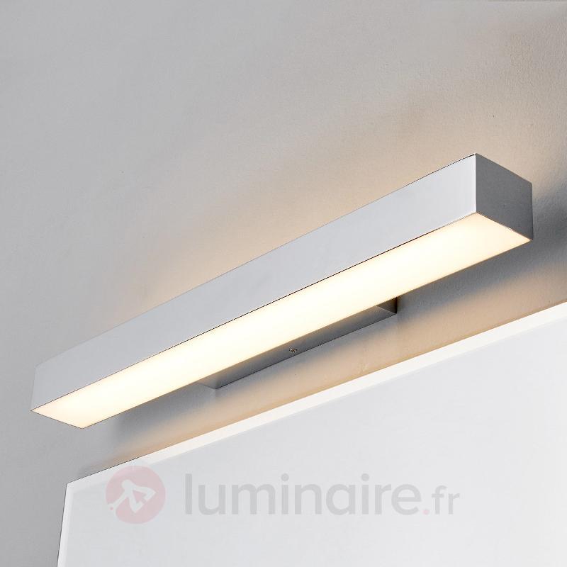 Applique LED Kiana aspect chromé - Appliques LED