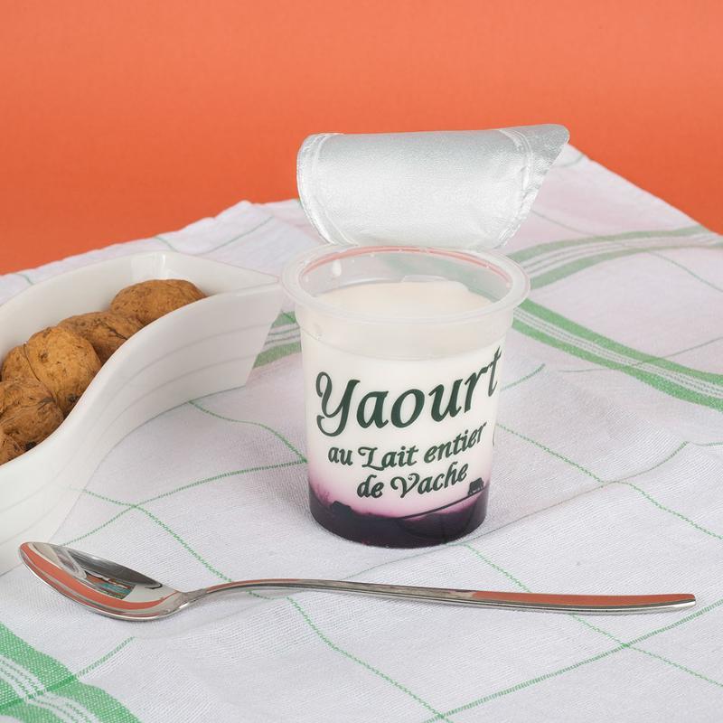 yaourt sur lit de myrtille 125G - Produits laitiers
