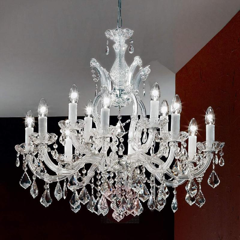 Liliana chandelier, excellent, with crystals - Chandeliers