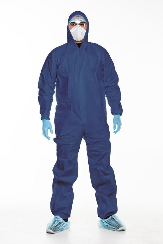 Schutzanzug Kategorie 1 (blau) - Größe XXXL