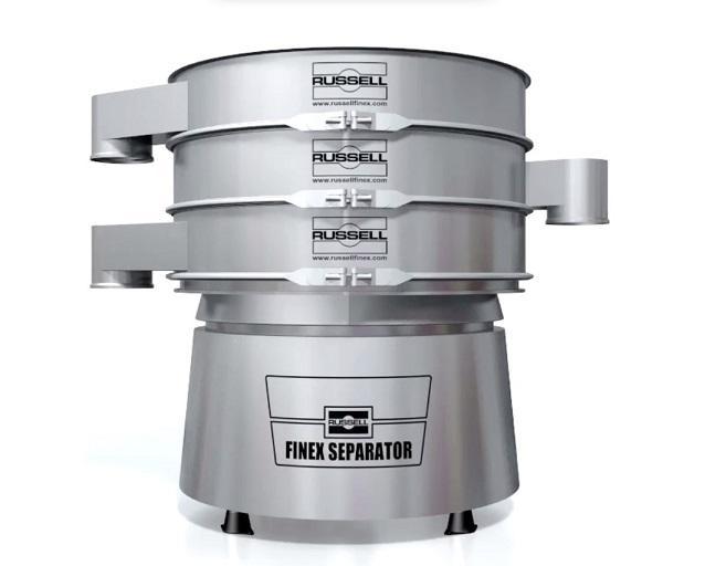 Clasificadores vibratorios industriales - Finex Separator™ - Clasificadores vibratorios para clasificar materiales hasta en cinco fracciones
