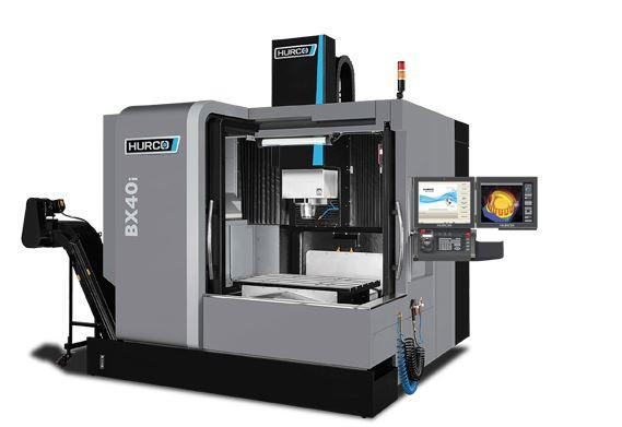 Double-Column-3-Axis-Machining-Center - BX 40i - HURCO´s BXi double-column series for high-speed machining