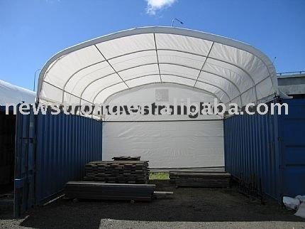 6m Wide Container Shelter - null