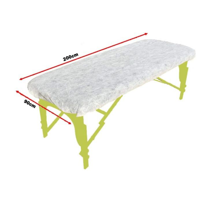 Disposable Stretcher Bed Cover Non Woven PP Bed Sheet  - Disposable Stretcher Bed Cover Non Woven PP Bed Sheet for Beauty Salon  Hospital