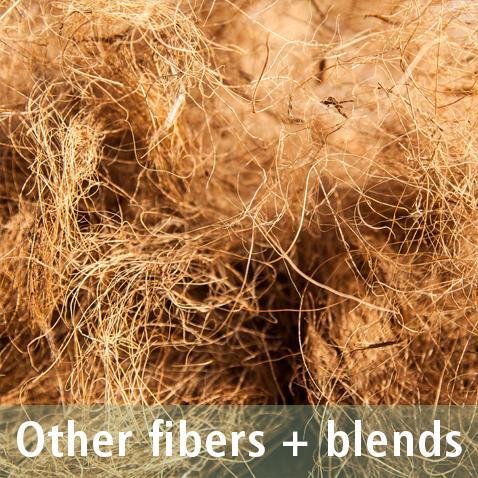 Natural fibers - Blends of fibers