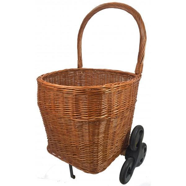chariot bois bomb 6 roues boutique la vannerie d 39 aujourd 39 hui france. Black Bedroom Furniture Sets. Home Design Ideas