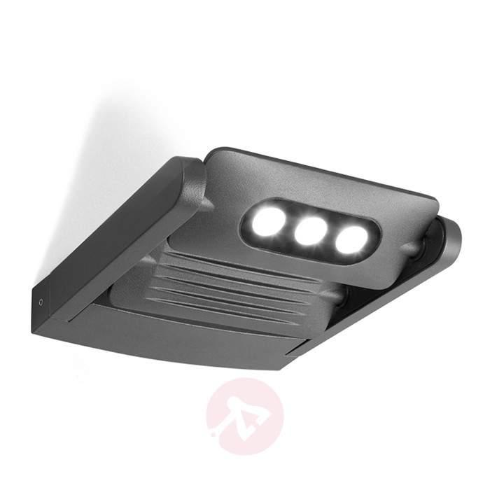 KEIRAN DUO LED ext. wall spot. with 6 Power LEDs - Outdoor Wall Lights