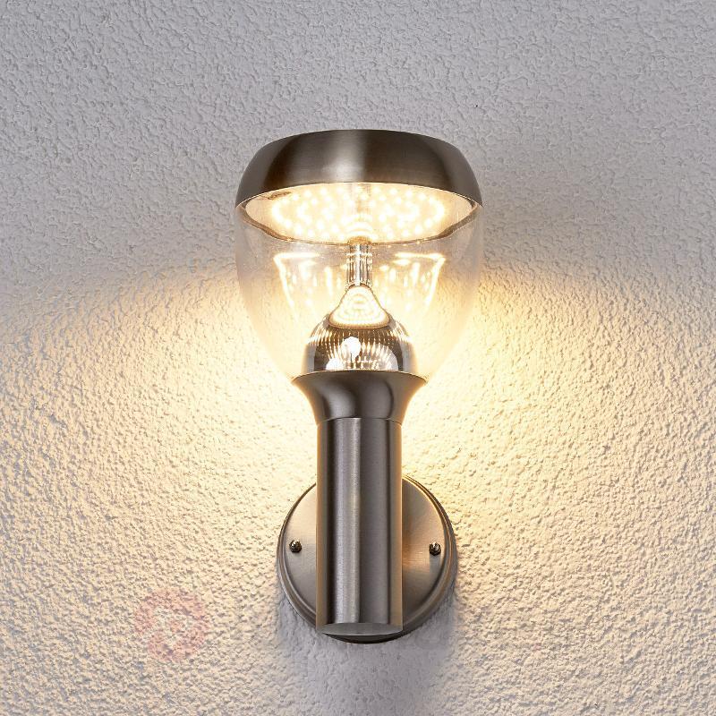 Applique d'extérieur LED Ettan en inox - Appliques d'extérieur LED