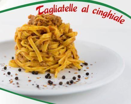 TAGHIATELLE AL CINGHIALE - null
