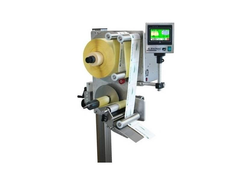 Etiketteermachine Etiketteerkop: NERVA - Halfautomatische etiketteermachines