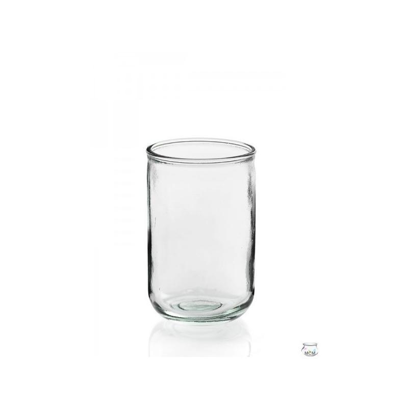 4 Photophores en verre LISO ALTO 400 ml - Vases, Lanternes, décoration