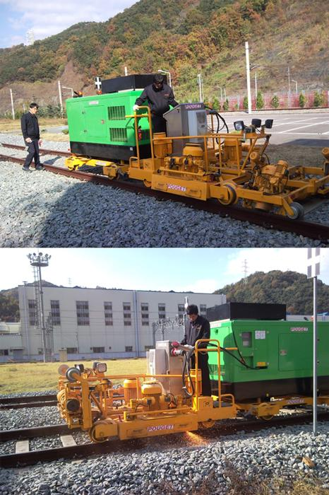 Machines for Track Works - High-Efficiency Rail Re-profiling Unit (For Rail Corrugation)