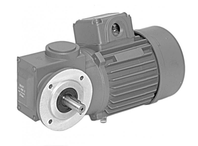 SN6F - Two-stage gear drive with solid shaft