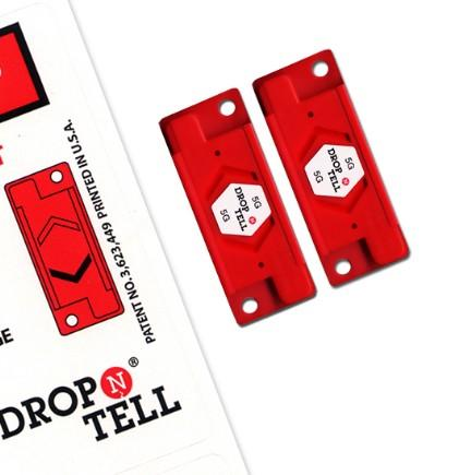 Drop N Tell Damage Indicators - including shipping labels -