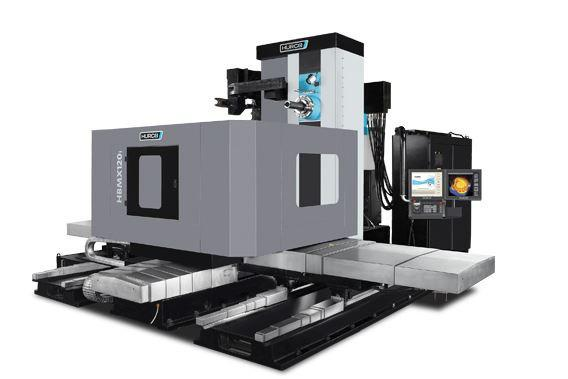 Horizontal-4-Axis-Machining-Center - HBMX 120i - Power and unbeatavle value - the ideal machine for medium sized 4-axis parts