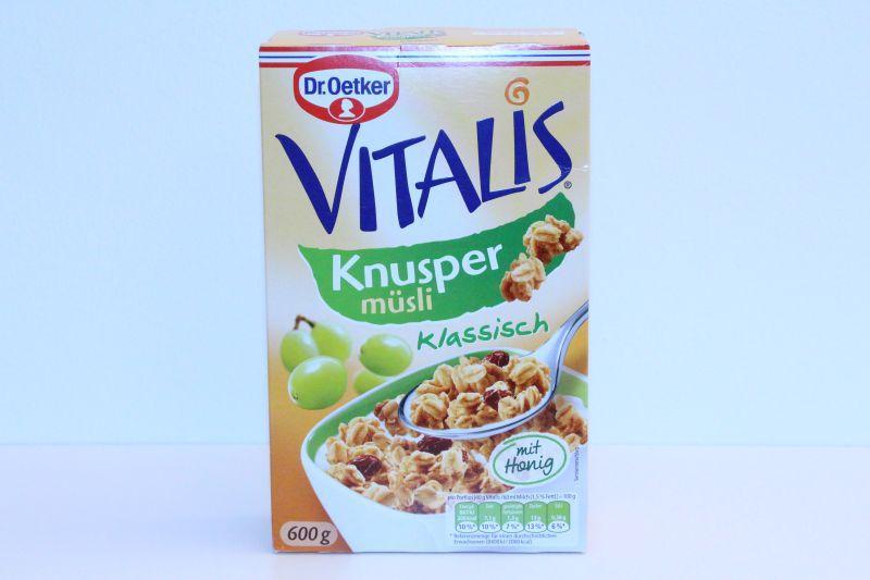Dr.Oetker Vitalis Crunchy Muesli -