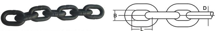 Welded Link Chain - Welded Link Chain EN818-2(G80)