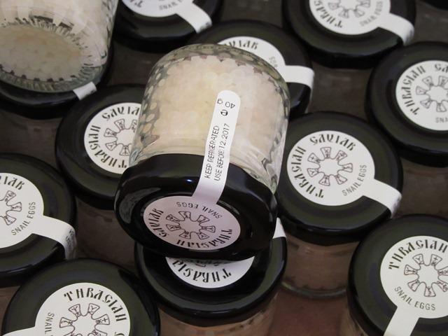 caviar de caracol