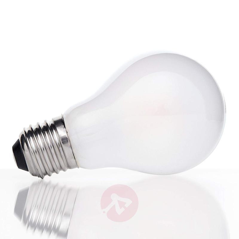 e27 6 w 827 led filament bulb matt on the inside light bulbs