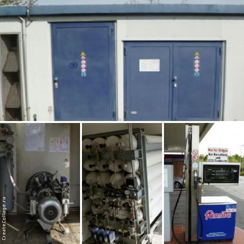 Газонаполнительная АЗС  - Газовые компрессоры и оборудование для АЗС