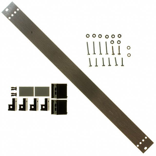 PANEL FRONT 6U FOR CARD RACK - Vector Electronics FP04-6U