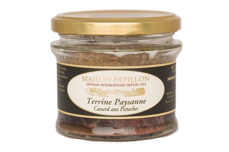 Terrine Tradition - CANARD aux PISTACHES - Epicerie salée